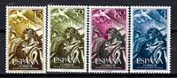 Espagne 1956 Révolution Nationale Yvert n° 878 à 881 neuf ** 1er choix