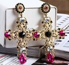 Italy Fashion 2018 New Runway Hot Baroque Style Party Earring