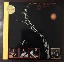 Tom Rush Late Night Radio AUDIOPHILE Insert SIGNED Numbered NM LP HS-48011 1984