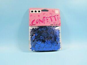Star Confetti Shiny Blue Mylar Plastic 14 gram bag Table Top Confetti