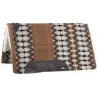 Classic Equine Sensorflex Horse Saddle Pad Wool Top 34X38 Brown Sage U-BRSG