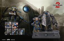 TOPOP Guild Wars 2 Zojja Golem USB Flash Drive & USB Hub Figure Statue Set