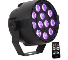 "LED-DiscoStrahler ""3in1"" RGB 12x 3W LEDs, Music Controlled, DMX"
