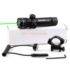 Tactical Green Laser Sight Scope with Pressure Switch Picatinny Rail Mount