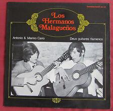 LOS HERMANOS MALAGUENOS   LP ORIG FR  ANTONIO & MARINO CANO  GUITARES FLAMENCO
