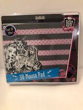 Sakar 2011 3D Monster High Mousepad mouse pad New A23