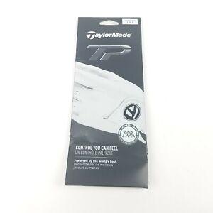 TaylorMade Stratus Tech Women's 2018 Golf Glove White - Reg LH-Large Off White