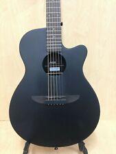 Haze 836CMBK Round-Back Acoustic Guitar,Black Satin+Free Gig Bag,Digital Tuner