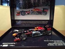 Max Verstappen 1:43 Red Bull RB7 snow demo Minichamps  LTD edition1500 psc