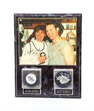 Wayne Gretzky Marty McSorley Signed Photo & Pucks 802nd Record Breaking Goal
