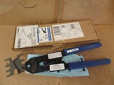 "BOW PEX Outils Superpex Crimping Crimp Tool 1/2"" 560649 15"" Length Blue Handle"