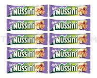 10 x MILKA NUSSINI Chocolate Covered Wafers With Hazelnut 31g 1.1oz