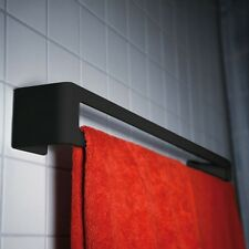 Puro Handtuchhalter schwarz  radius design Badetuchstange Handtuchstange