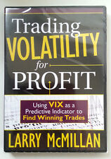 *RARE* TRADING VOLATILITY FOR PROFIT Using VIX by Larry Mcmillan ** NEW DVD **
