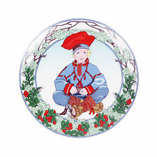 CHILDREN OF THE WORLD #7 Finland Unicef Porcelain Plate Heinrich Villeroy Boch