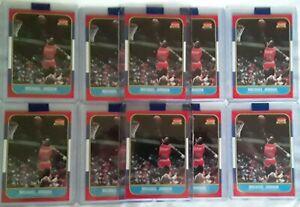 $2 EACH!!!!(10) Michael Jordan 1986 Fleer Matte Style Reprints GMA 10 Worthy🔥🔥