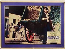 GLI AMANTI DEL CHIARO DI LUNA drammatico di Vadim con B. Bardot fotobusta 1958