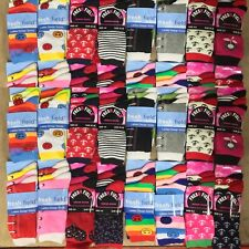 48 PAIRS OF LADIES SOCKS ASSORTED SIZE 4-6 WHOLESALE JOB LOT