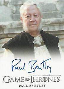 """Game of Thrones Season 6 - Paul Bentley """"High Septon"""" Autograph Card"""