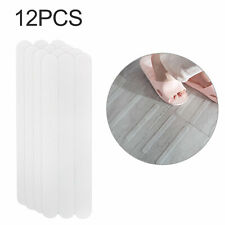 12Pcs Safety Treads Non-Slip Applique Stickers Mat Bathtub Strips Shower Strips
