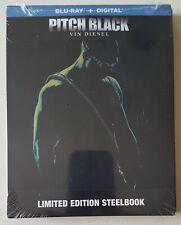 Pitch Black Steelbook (Blu-ray, Digital) Best Buy Exclusive - Factory Sealed
