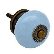 ARMADIO a porte in Ceramica Armadio Cucine Manopola Maniglia Set-Blu x1