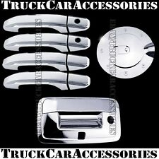 For CHEVY Silverado 2500/3500+HD 2014 Chrome Covers 4 Doors+Gas+Tailgate KH/Cam