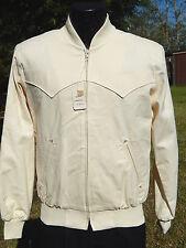 NOS Vtg H Bar C California Men ROCKABILLY Jacket Cowboy Western VLV RICKY Coat S