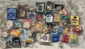 VINTAGE FAST FOOD TOY LOT OF 40 From The 90's