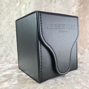AUDEMARS PIGUET Genuine Watch Black Leather Travel Case Box (Unused)