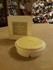 Vintage Avon Beauty Dust Refill with Puff Occur! Scent 6oz Nib