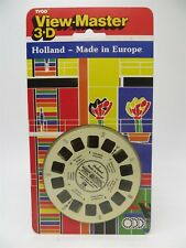 View-Master CR395, Holland - Made in Europe, 3 Reel Set - NEW SEALED MINT - RARE