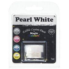 Magic Colours Edible Lustre Dust Pearl White - 7ml
