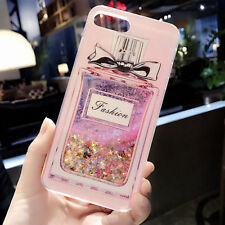 Dynamic Liquid Glitter Quicksand Bling Soft Case Cover For iPhone X 6S 7 8 Plus