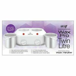 Hi Lift Twin Kompact Ceramic Wax Pot 1 Litre & 1 Litre