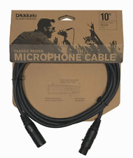 D'Addario PW-CMIC-10 10' Classic Series Microphone Cable XLR/XLR.