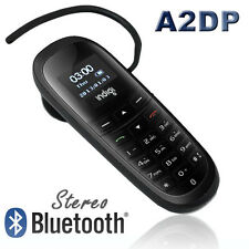 New Stereo Bluetooth Dialer Headset For All iPhone 5s 4 Galaxy Phone Watch Phone