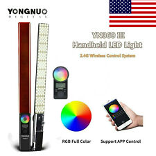 Yongnuo YN360III Pro RGB Video Light Handheld Stick Bar Bicolor Light 3200-5600K