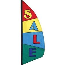 SALE - Block Pattern 8.5' Feather Banner from Premier Kites - 26211