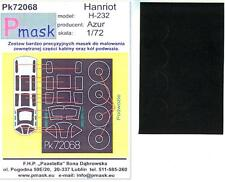Model Maker 1/72 HANRIOT H-232 French Twin Engine Trainer Paint Mask Set