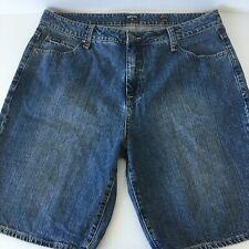 Mens Rip Curl Size 36 Blue Stone Wash Denim Shorts