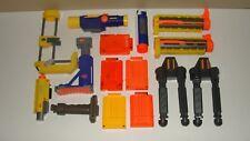 HUGE NERF PARTS ACCESSORIES LOT SCOPE STAND CLIP AMMO EXTENSION ELITE GUN STRIKE