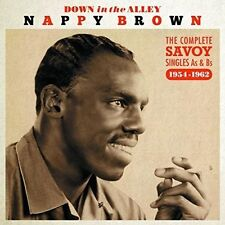 Nappy Brown - Down In The Alley: Complete Singles As & Bs 54-62 [New CD] UK - Im