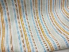 striped linen  fabric - sold by 1/2 meter