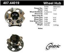 Wheel Bearing and Hub Assembly-Premium Hubs Rear Right Centric 407.44019