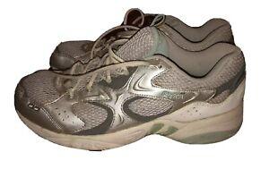 Ladies Ryka Sneakers - Silver Size 8.5