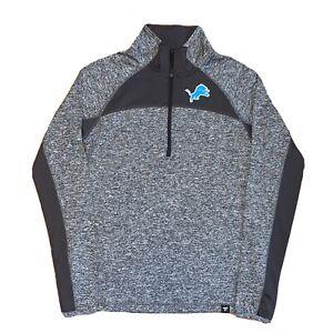Detroit Lions Fanatics NFL 1/4 Zip Pullover Tech Jacket Women's Size Small
