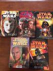 Star Wars hardback prequel novels
