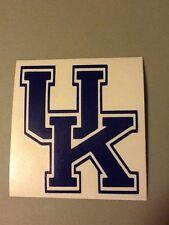 University Of Kentucky Vinyl Die Cut Decal, basketball,football,window,car,truck