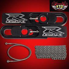 2008 GSX-R 1000 Swingarm Extensions kit, Chain,Brake Line Swing Arm Extension